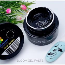 Гель-краска Bloom с липким слоем (ЧЕРНАЯ), 5 мл