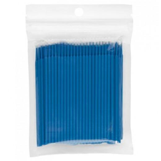 IRISK Микрощеточки для ресниц ( в пакете) 100 штук, размер L, СИНИЕ
