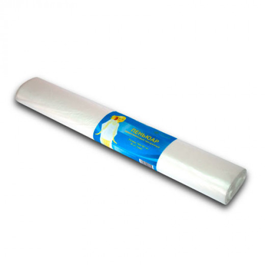Пеньюар White Line, п/э, 100х140, РУЛОН, 50 шт.