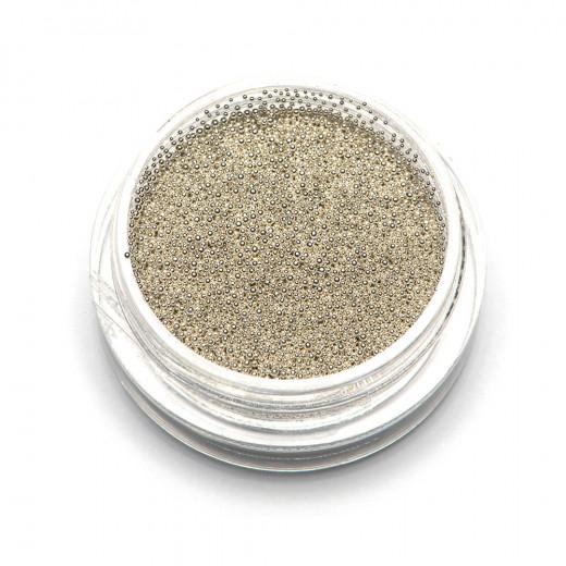 """Бульонки супермелкие """"TNL"""" серебро, 0,4 мм, 3 гр."""