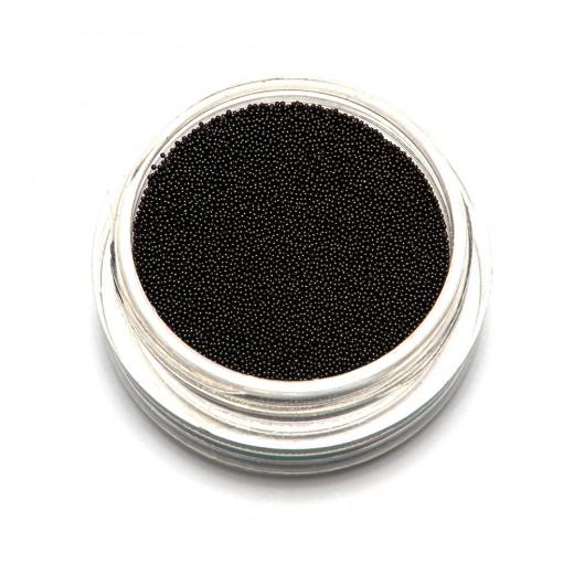 Бульонки супер мелкие TNL черные, 0,2 мм, 3 гр.