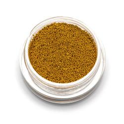Бульонки супер мелкие TNL золото, 0,4 мм, 3 гр.