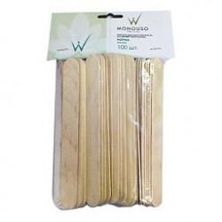 Шпатели деревянные норма  WhiteLineNatura 100 шт.