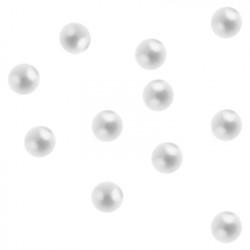 Жемчуг Звездная пыль, 50 шт. (Белый  ультра-мелкий д.1,5 мм)